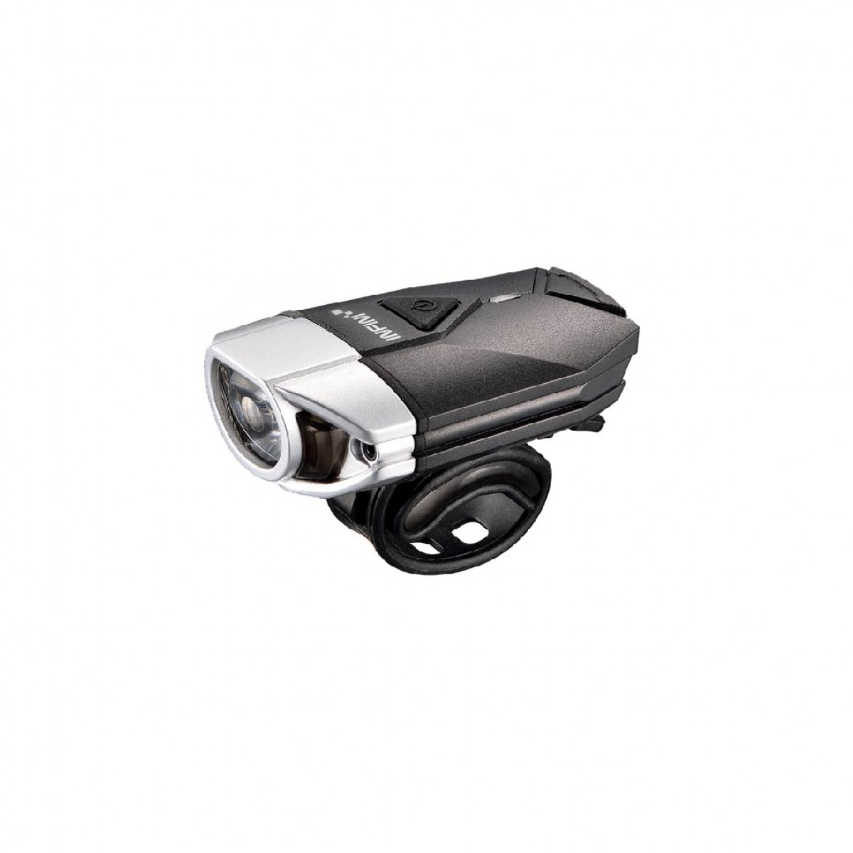 Cycle Lamp Infini Lava Super Bright Micro USB Front Light With QR bracket